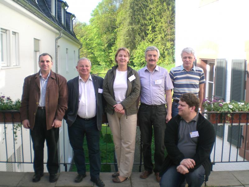 From left to right: Emil Kelevedjiev (Bulgaria), Maciej Syslo (Poland), Elma Rudzite (Latvia), Rostyslav Shpakovich (Ukraine), Andrej Blaho (Slovakia), Bronius Skupas (Lithuania)