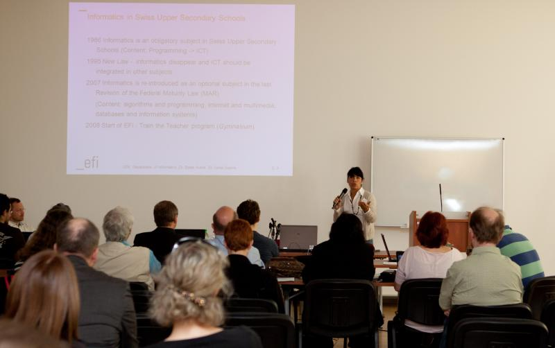Open Conference Day. Vania Guerra (Switzerland): Current Situation of Informatics at the School in Switzerland