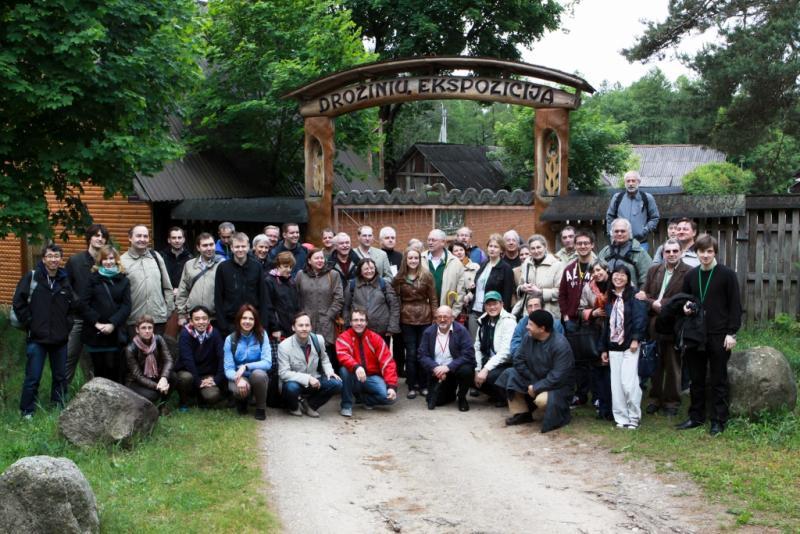 Excursion to Antanas Cesnulis' sculpture park