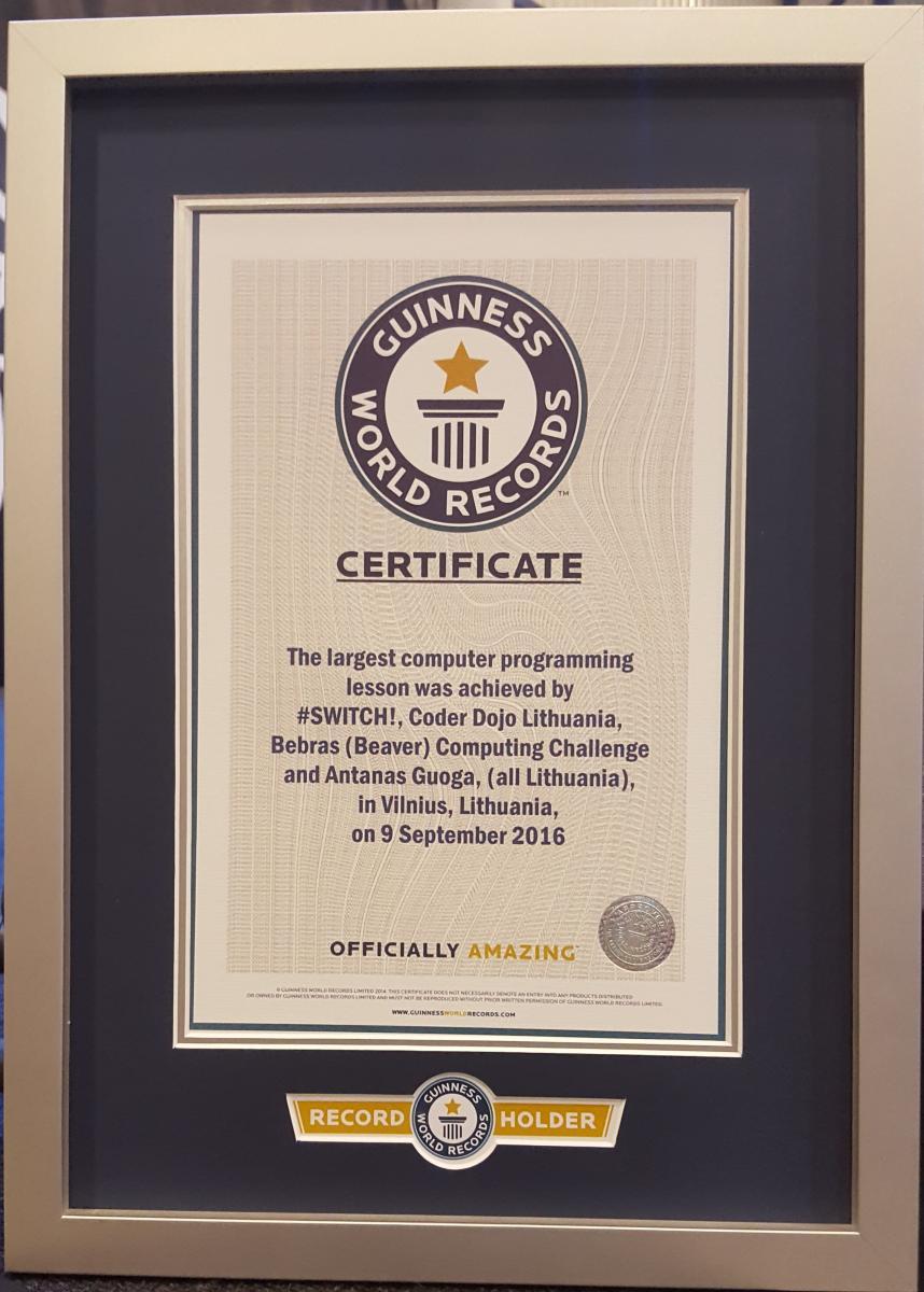 Bebras In Guinness World Record Bebras
